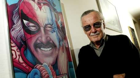 Stan Lee, creator of Spider-Man, Iron Man, and