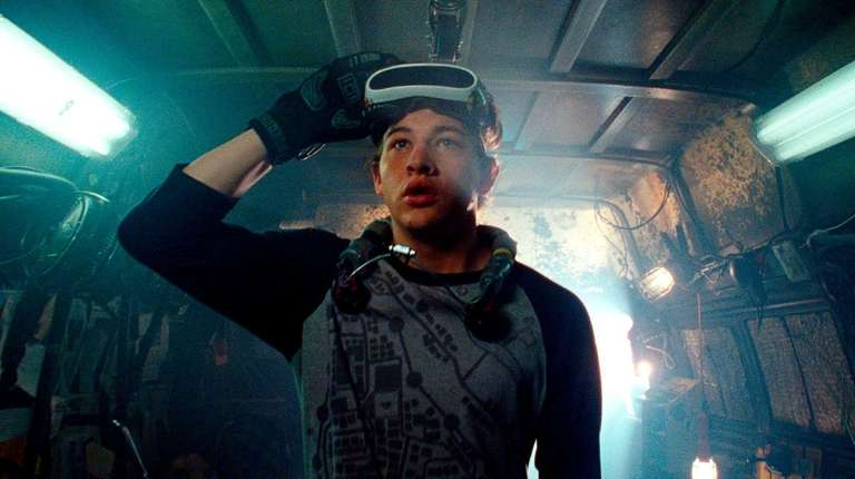 "Tye Sheridan in a scene from ""Ready Player"