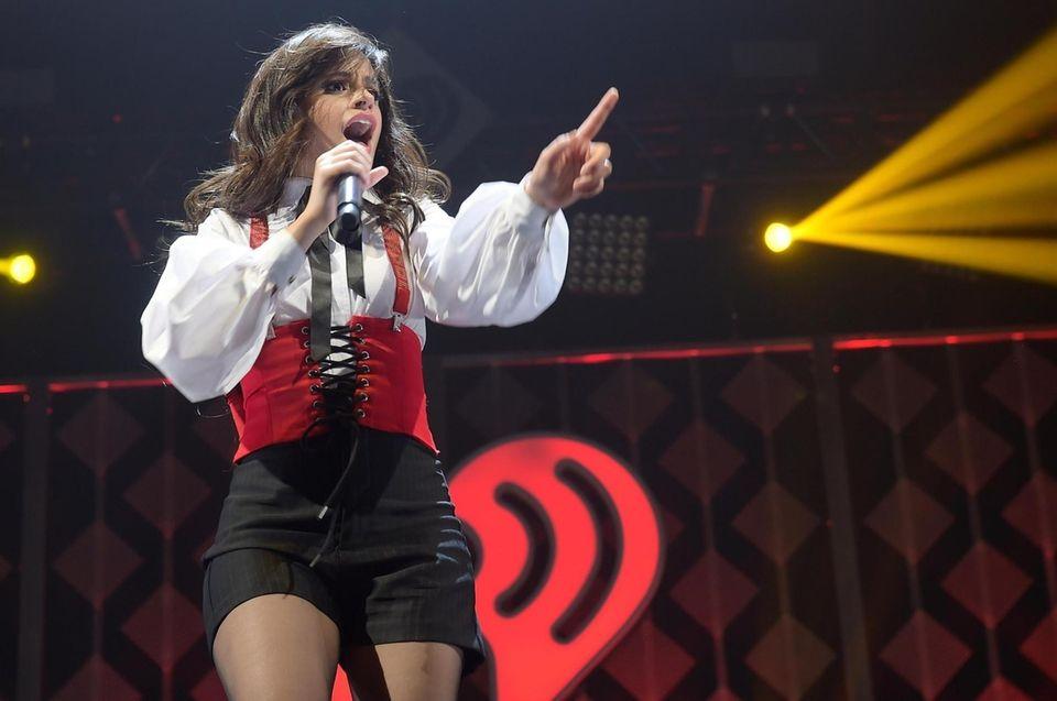 SUNRISE, FL - DECEMBER 17: Camila Cabello performs