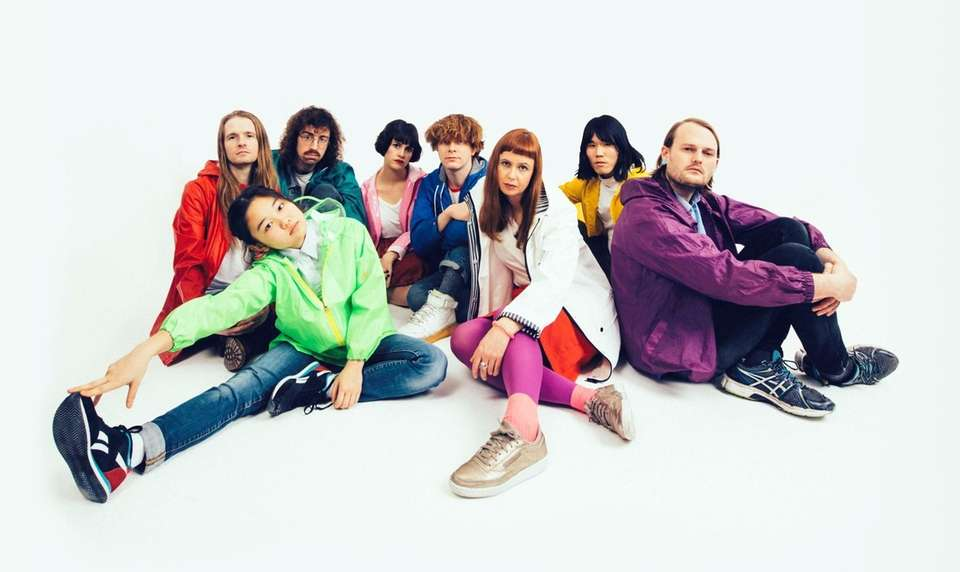 2018 new artists Superorganism, whose popular new single