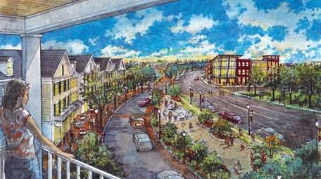A rendering of the Gateway Plaza development on