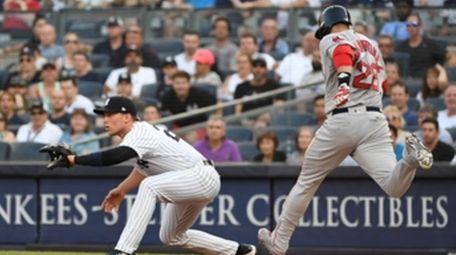 Boston Red Sox designated hitter J.D. Martinez is