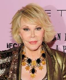 Joan Rivers attends the premiere of quot;Joan Rivers:
