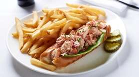 The lobster-salad roll is among Long Island's better