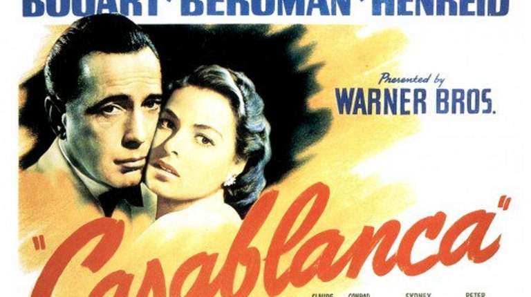 "A poster for ""Casablanca"" is part of the"