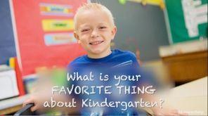On Monday, kindergartners at Tooker Avenue School in