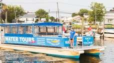 Freeport Water Taxi & Tours runs point-to-point service