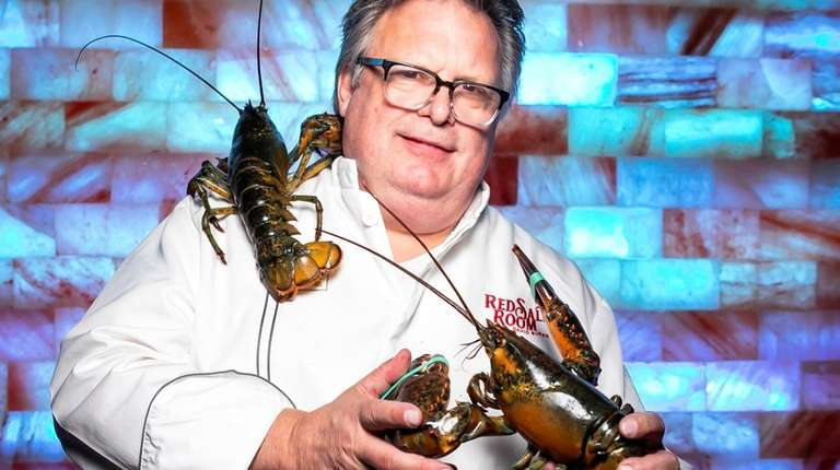Chef David Burke in front of a Himalayan