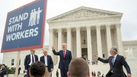 The Supreme Court ruled that government workers can't