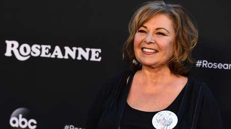 Roseanne Barr at the Los Angeles premiere of