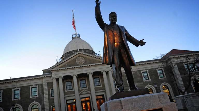 The Theodore Roosevelt Executive & Legislative Building, the