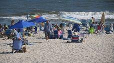 Tiana Beach in Hampton Bays, seen here on