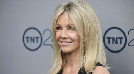 Heather Locklear attends the TNT 25th snniversary party