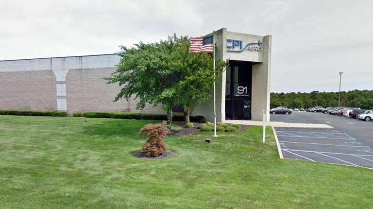 CPI Aerostructures' offices in Edgewood.