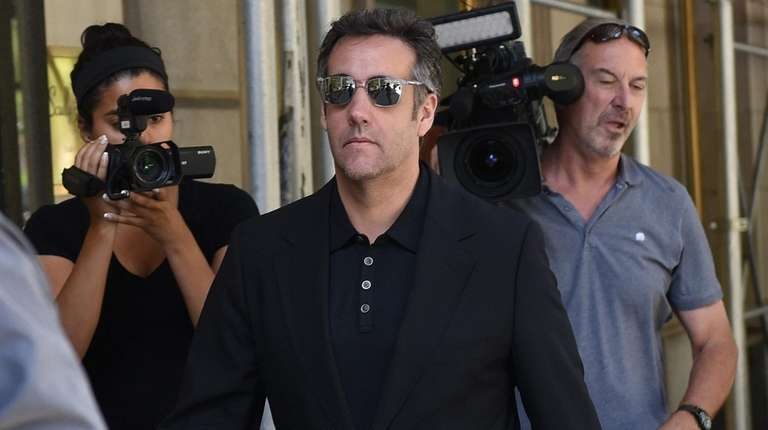 Michael Cohen, seen here on June 15, said