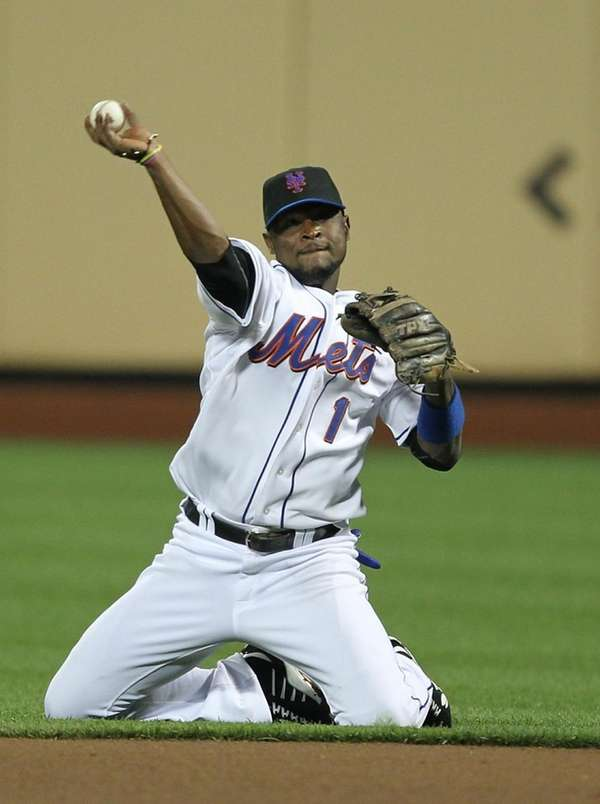 Luis Castillo #1 of the New York Mets