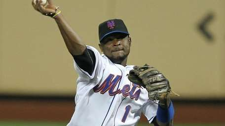 Luis Castillo #1 of the New York Mets