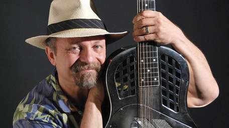 LI blues musician Toby Walker  will perform