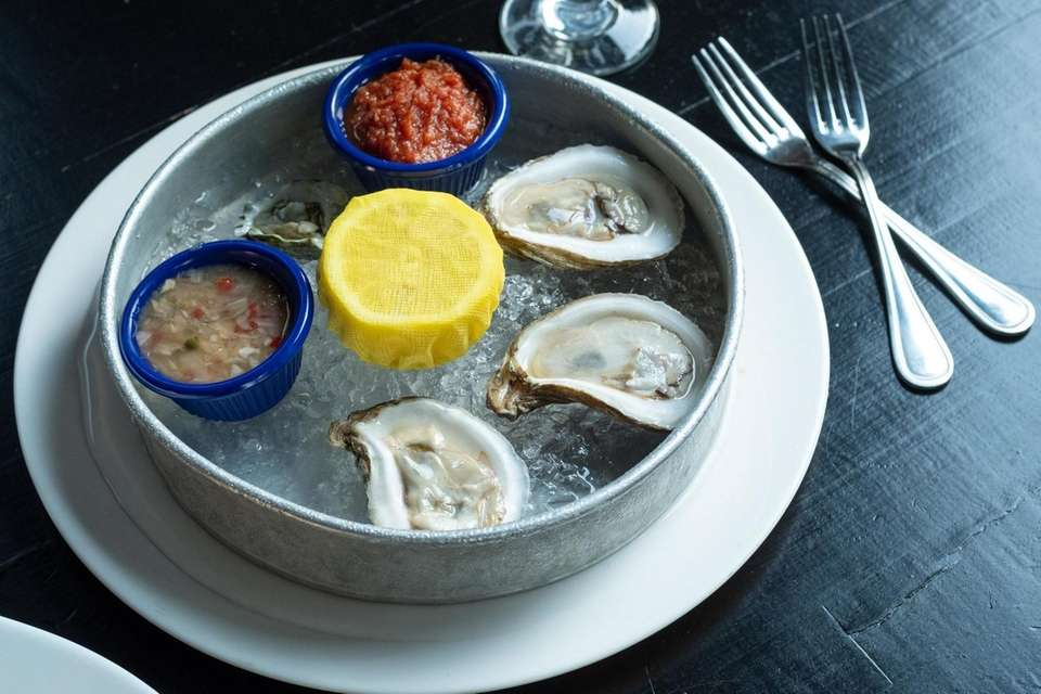 Finley's Seafood (44 Green St., Huntington): Oysters, from