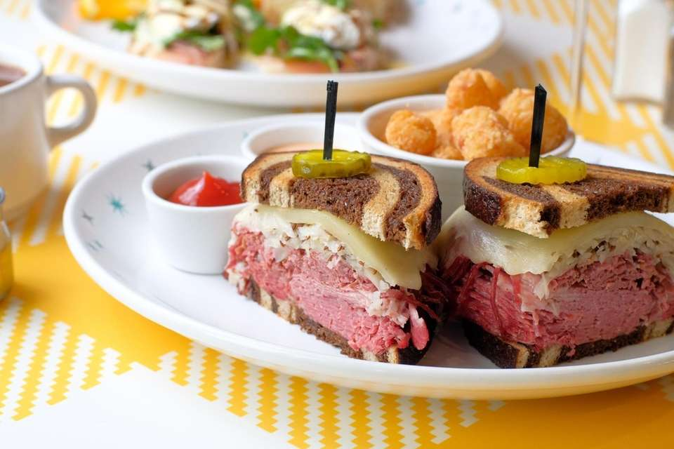 Reuben sandwich at Hatch (286 Main St., Huntington):