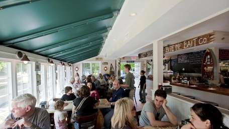 Bostwick's Chowder House is a new seafood-themed restaurant