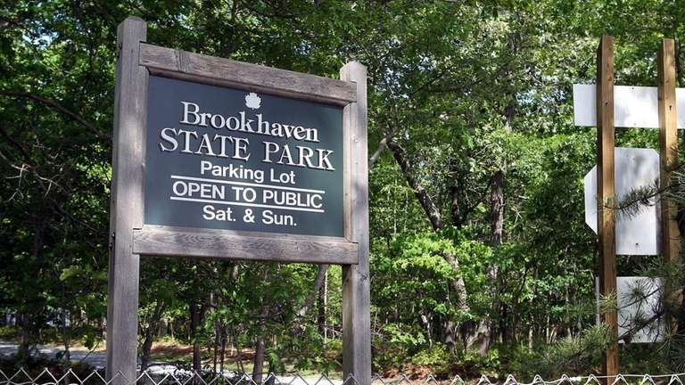 Brookhaven State Park was reopened after it and