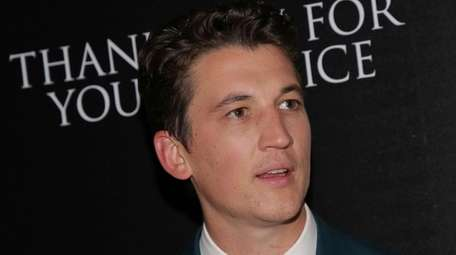 "Miles Teller attends a screening of ""Thank You"