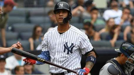 New York Yankees second baseman Gleyber Torres returns