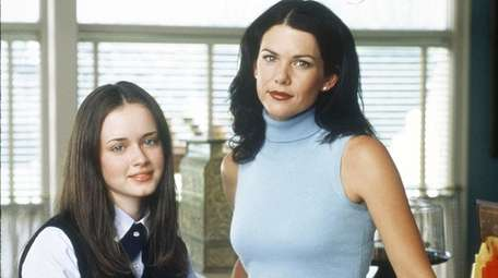 Alexis Bledel and Lauren Graham starred in