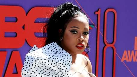 Rapper Remy Ma attends the 2018 BET Awards