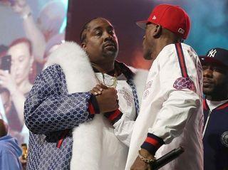 DJ Eric B. and rapper Rakim at the