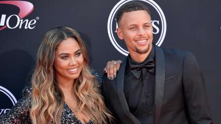 Ayesha and Steph Curry at the ESPYS in