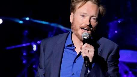 Conan O'Brien performs at his 'Legally Prohibited From