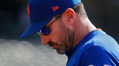 Mets manager Mickey Callaway heads back to the
