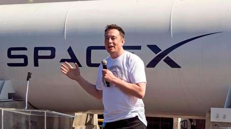 SpaceX chief executive Elon Musk, co-founder of Tesla,