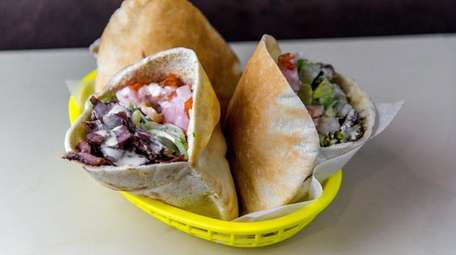 Mamoun's Falafel, the landmark eatery in Manhattan's Greenwich