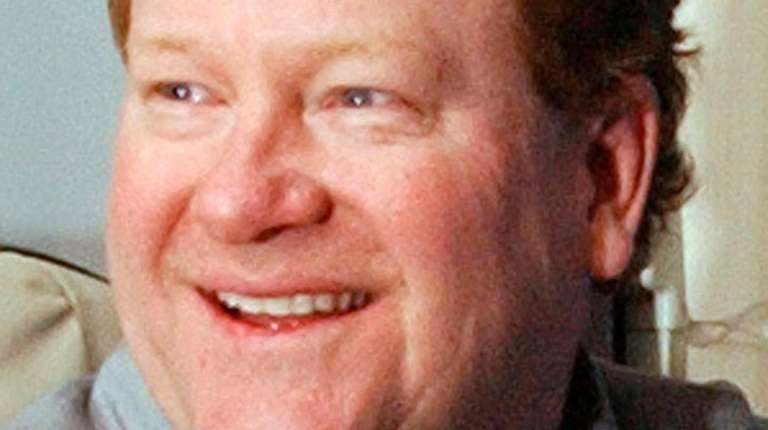 """Ed Schultz, shown in 2004, anchored """"News with"""