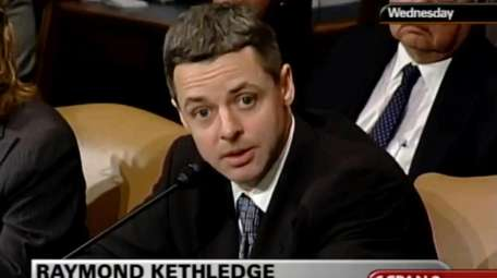 In this May 7, 2008, image from video