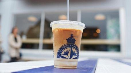 Iced coffee is on the menu at Bluestone