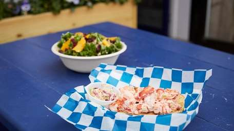 Lobster rolls and fish tacos are on