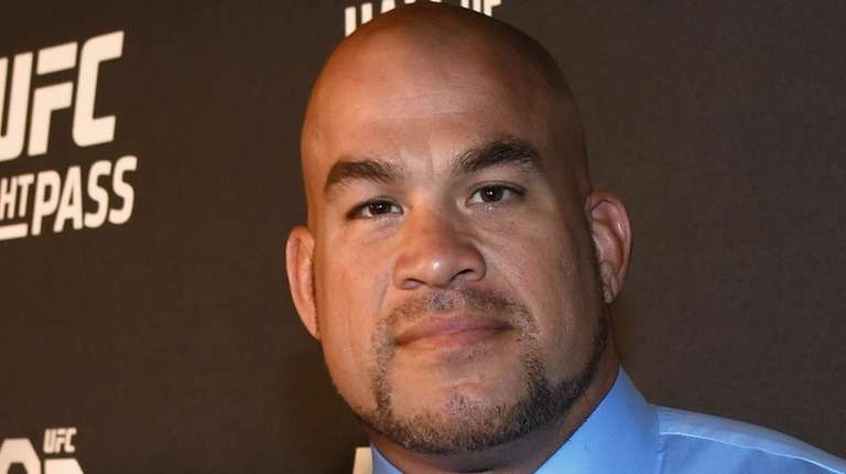 Tito Ortiz arrives at the UFC Hall of