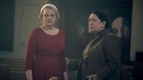 Elisabeth Moss and Ann Dowd star in Hulu's