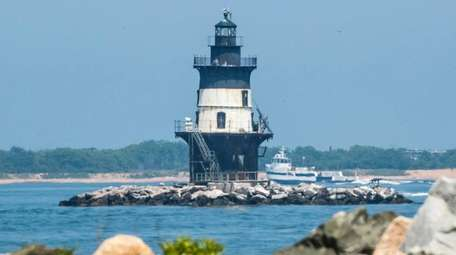 The Orient Point Lighthouse, sometimes called the Coffee
