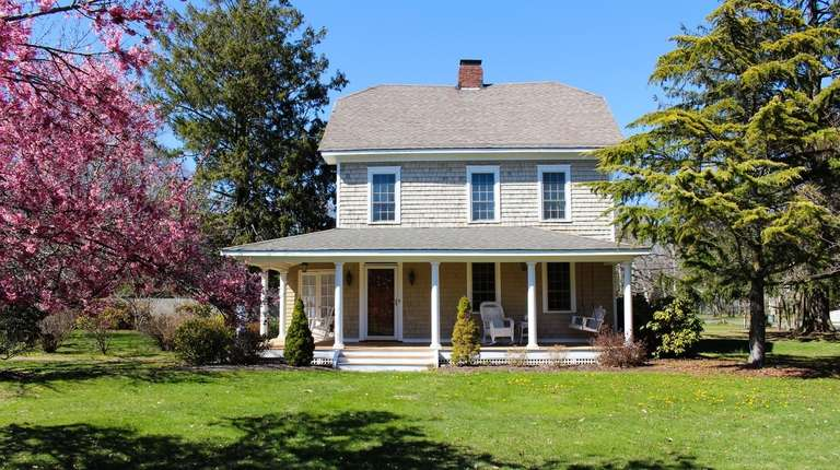 This Bayport home, where President Grover Cleveland is