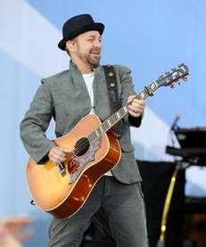 "Sugarland member Kristian Bush performs on ABC's ""Good"