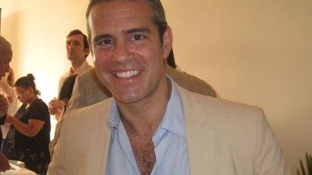 Bridgehampton, NY, Saturday, May 29, 2010: Andy Cohen,