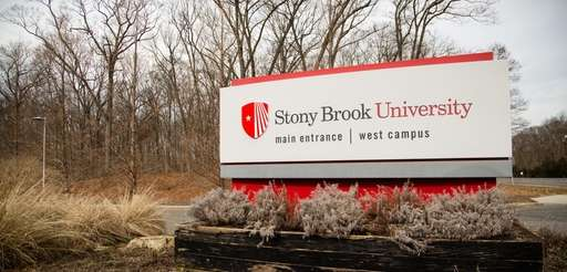 The number of students enrolled in Stony Brook's
