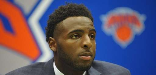 Mitchell Robinson, selected by the Knicks in the