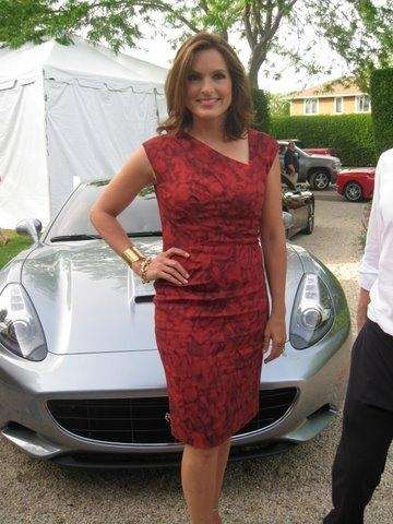 Mariska Hargitay in the Hamptons.