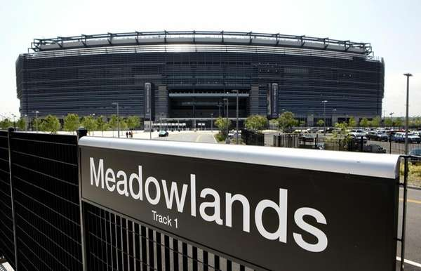 The New Meadowlands Stadium is seen on May